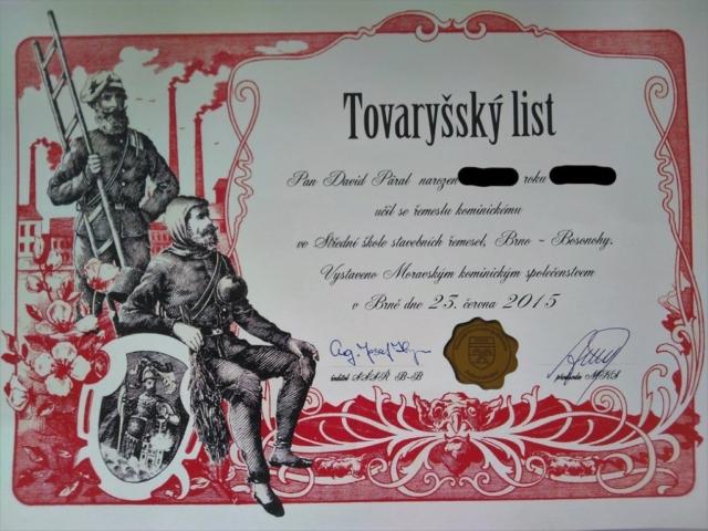 Tovaryšský list