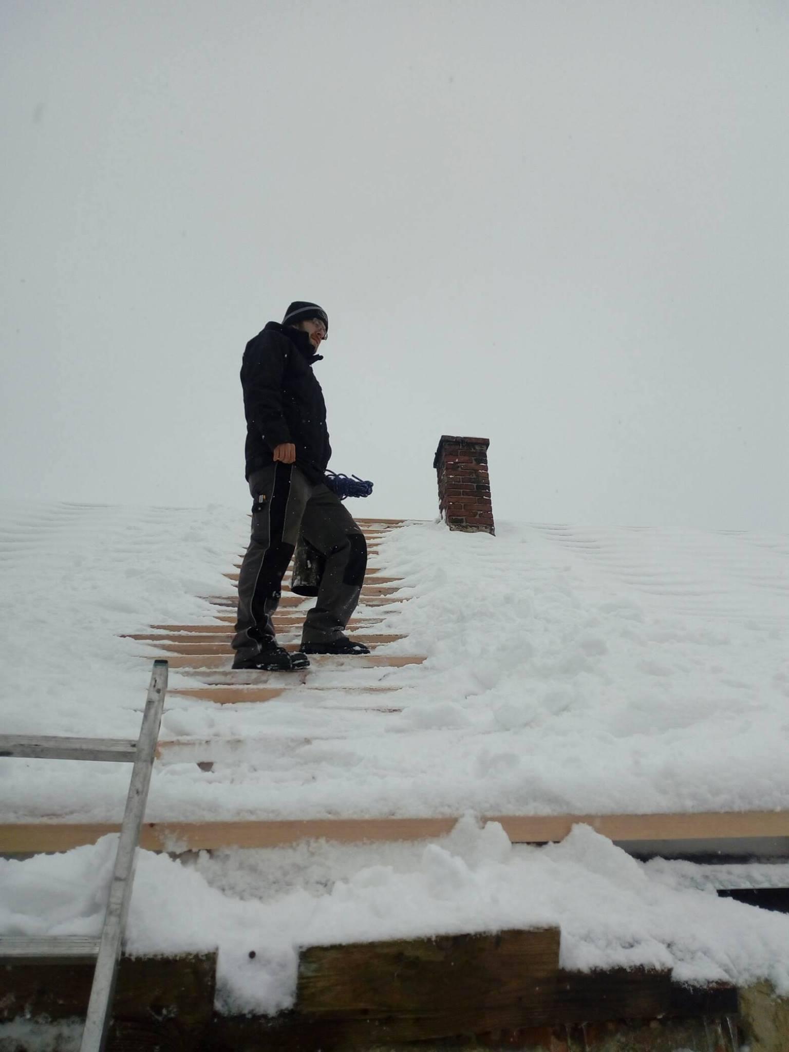 I v zimě pracuji ;) počasí nás nezastaví
